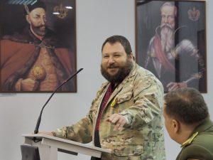 Ukrainietis Evgen Dykyi.