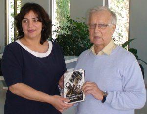 """Kubos miesto """"Memorialinio genocido komplekso"""" direktorė Saida Abasova ir istorikas Algimantas Liekis. Slaptai.lt nuotr."""
