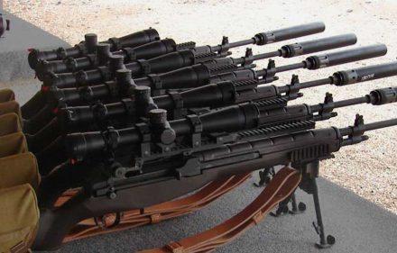 Snaiperiniai šautuvai M-14