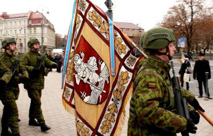 Lietuvos kariuomenės diena. Vytauto Visocko (Slaptai.lt) nuotr.