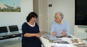 Slaptai.lt: директор музея Саида Аббасова и историк Альгимантас Лекис.