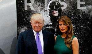 Donaldas ir Melanija Trampai