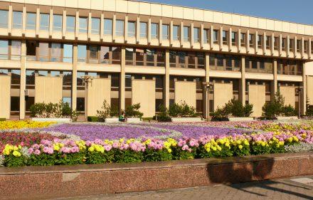 Lietuvos Respublikos Seimo rūmai. Vytauto Visocko (Slaptai.lt) nuotr.