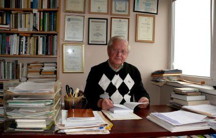 Prof. Romualdas Grigas. Vytauto Visocko (Slaptai.lt) nuotr.
