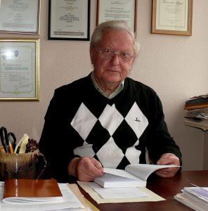 Prof. Romualdas Grigas. Vytauto Visocko nuotr.