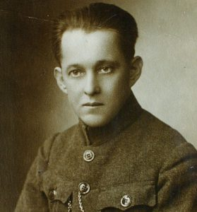 Lietuvių literatūros klasikas rašytojas Vincas Krėvė - Mickevičius.