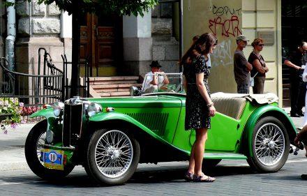 Senovinis automobilis. Vytauto Visocko (Slaptai.lt) nuotr.
