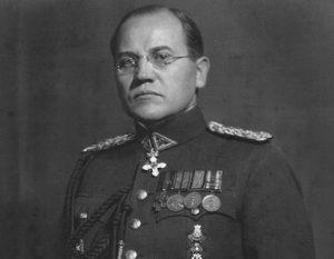 Pulkininkas Kazys Škirpa, dėl kurio atminimo Vilniaus Rotušėje kilo karštos diskusijos.