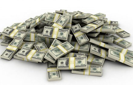 Kiek sveria milijonas JAV dolerių?