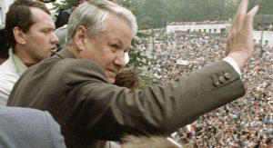 Borisą Jelciną lietuviai vertina palankiau nei Michailą Gorbačiovą.