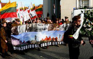 Didžiuojamės, kad esame lietuviai, lietuviais norime ir likti. Vytauto Visocko (Slaptai.lt) nuotr.