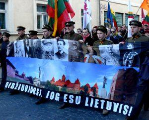 Didžiuojamės, kad esame lietuviai. Vytauto Visocko (Slaptai.lt) nuotr.
