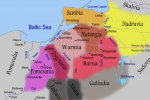 Prūsijos žemėlapis