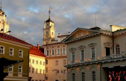 Vilniaus Universitetas. Slaptai.lt (Vytautas Visockas) nuotr.