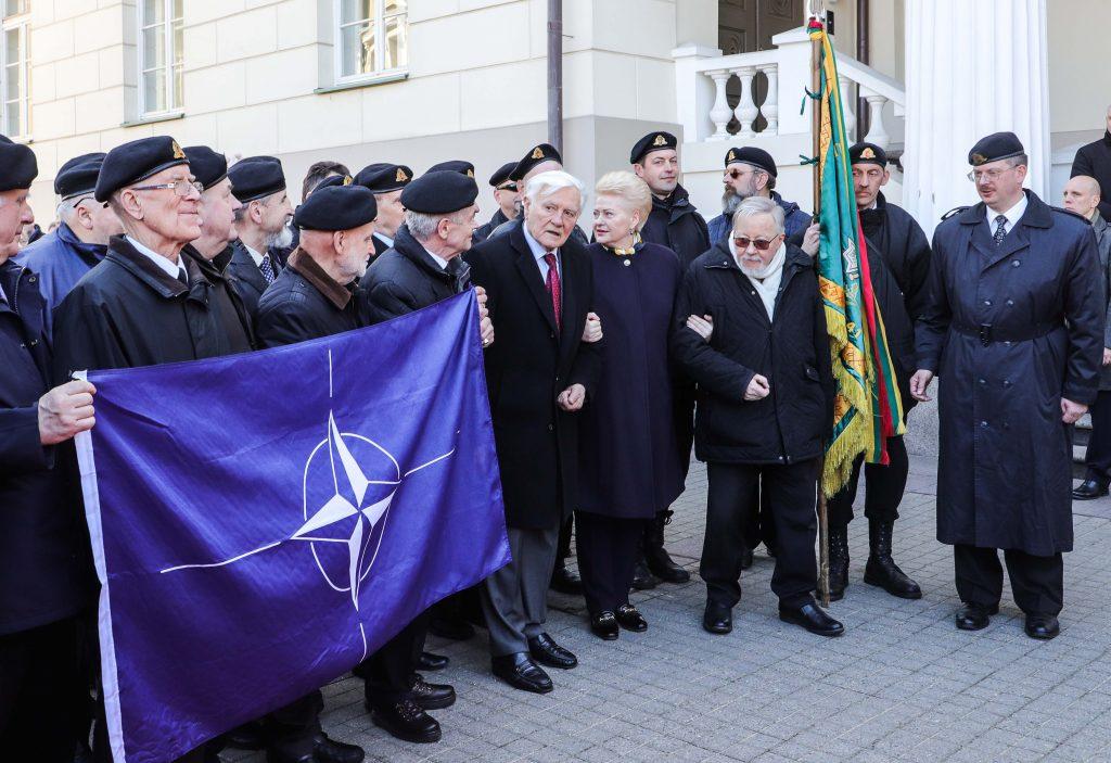 Jau 15 metų, kai Lietuva - NATO narė. Dainiaus Labučio (ELTA) nuotr.