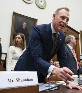 JAV gynybos sekretorius Patrickas Shanahanas. EPA - ELTA nuotr.