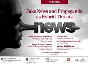 """""""Klaidinančios naujienos ir propaganda kaip hibridinės grėsmės"""""""