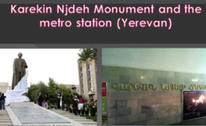 Paminklas Nždehui ir metro stotis (Jerevanas)