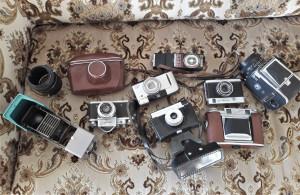 Tėvo fotoaparatai