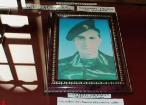 Žuvusio azerbaidžaniečių kario nuotrauka