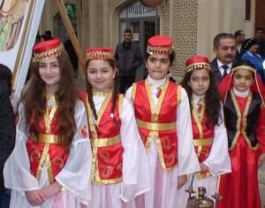 Azerbaidžaniečių mergaitės