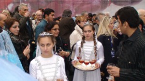 Azerbaidžanietiško vyno taurė - svečiams
