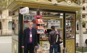 Giandža. Spaudos kioskas