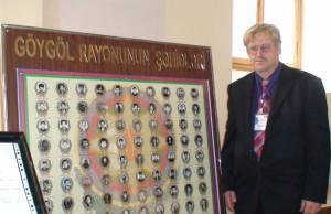 Goi gou muziejus. Žuvusiųjų azerbaidžaniečių karių nuotraukos