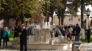 Ir Giandžoje - daug fontanų