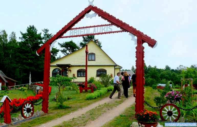 Janinos Stankevičienės sodyba Briedlaukio kaime, Zarasų rajonas
