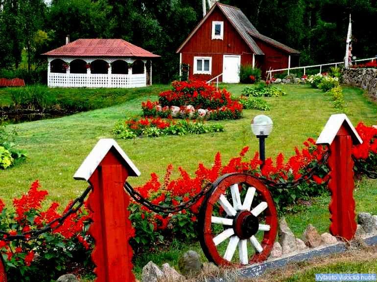 Janinos Stankevičienės sodyboje Briedlaukio kaime, Zarasų rajonas