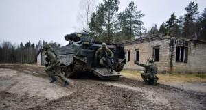 Vokietijos kariai pratybose Lietuvoje (1)