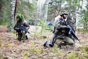 Vokietijos kariai pratybose Lietuvoje (2)