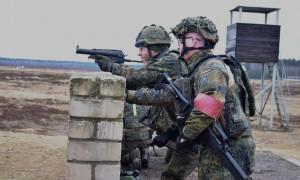 Vokietijos kariai pratybose Lietuvoje (4)