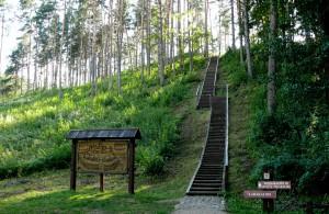Papiliakalnės ir Ginučių piliakalnis