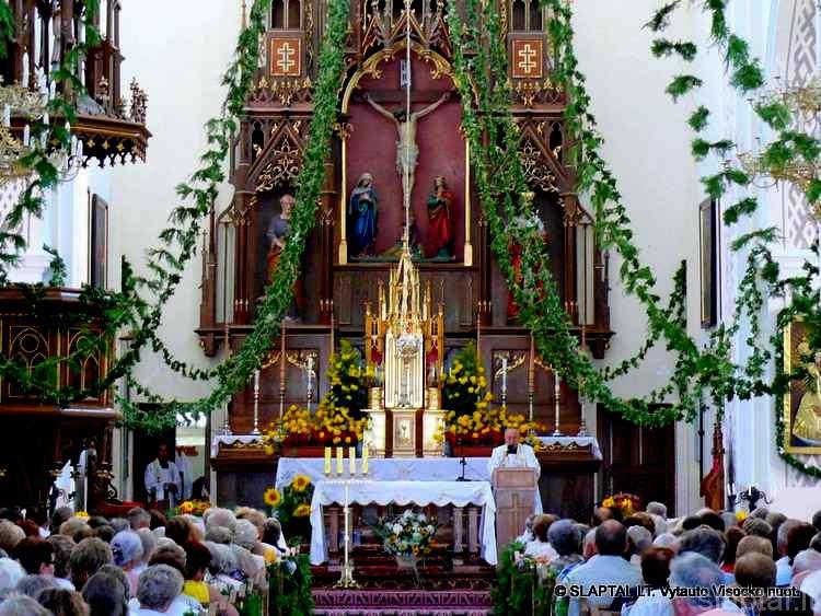 Šv. Mišios Punsko bažnyčioje