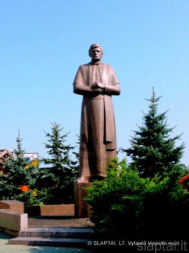 Vyskupo Antano Baranausko paminklas Seinuose