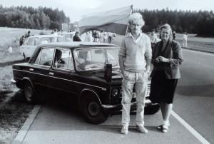 Baltijos kelyje su mama. Vytauto Visocko (Slaptai.lt) nuotr.