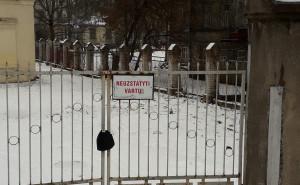 Neužstatyti vartų. Slaptai.lt nuotr.