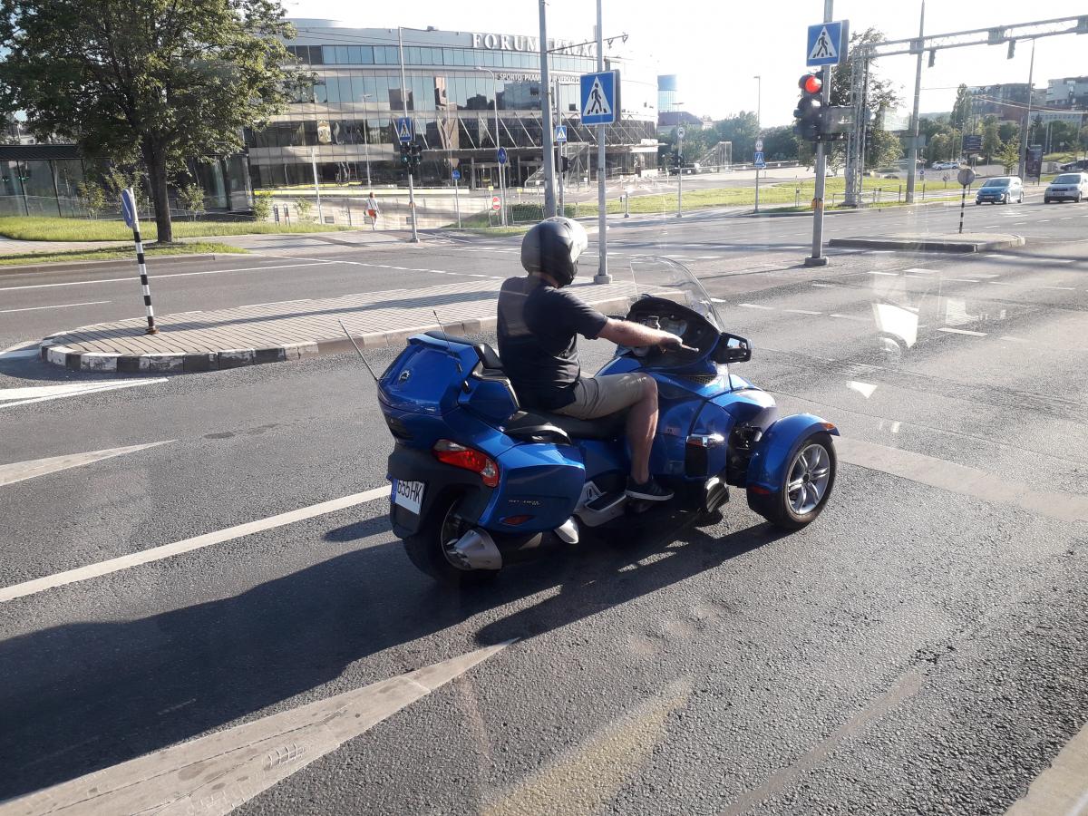 Motociklas. Slaptai.lt nuotr.