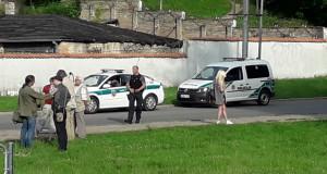 Policijos automobiliai. Slaptai.lt nuotr.