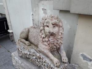 Aptriušęs liūtas. Slaptai.lt