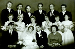 A.Girdenis - piršlys Irenos Bliūvaitės vestuvėse