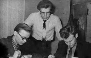 Aleksas Girdenis, Vytautas Visockas ir Einas Šiušelis