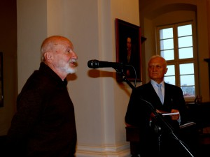 Prof. dr. Kęstutis Nastopka, kurso draugas, ir prof. dr. Bonifacas Stundžia