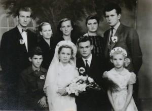 Algirdo Marcinonio vestuvinė nuotrauka