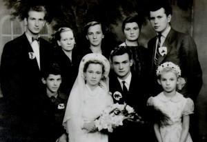 Algio Marcinonio vestuvinė nuotrauka