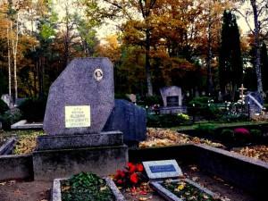 Klasės draugės Aldonos Kunigonytės kapas