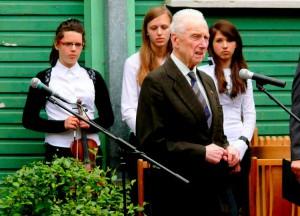 Mokyklos jubiliejuje akad. Antanas Kudzys