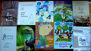 Kelios poeto Viliaus Baltrėno knygos